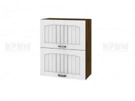 Горен шкаф за кухня Сити ВФ-Бяло фладер-04-11 МДФ - 60 см.