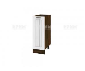 Долен шкаф за кухня Сити ВФ-Бяло фладер-04-70 ляв МДФ - 30 см.