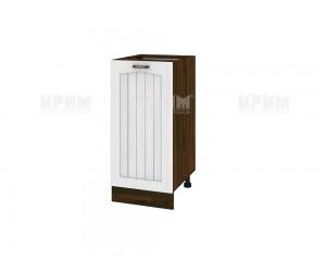 Долен шкаф за кухня Сити ВФ-Бяло фладер-04-21 десен МДФ - 40 см.