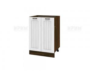 Долен шкаф за кухня Сити ВФ-Бяло фладер-04-22 МДФ - 60 см.