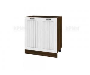 Долен шкаф за кухня Сити ВФ-Бяло фладер-04-23 МДФ - 80 см.