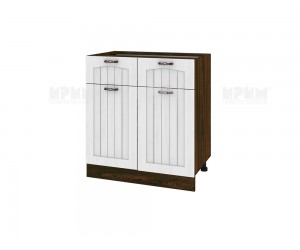 Долен шкаф за кухня Сити ВФ-Бяло фладер-04-26 МДФ - 80 см.