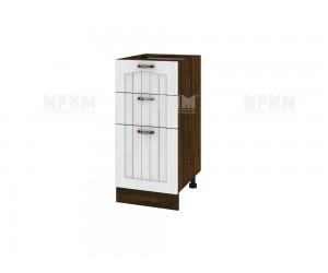 Долен шкаф за кухня Сити ВФ-Бяло фладер-04-77 ляв МДФ - 40 см.
