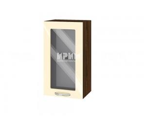 Горен шкаф за кухня Сити ВФ-Бежово гланц-05-202 МДФ - 40 см.