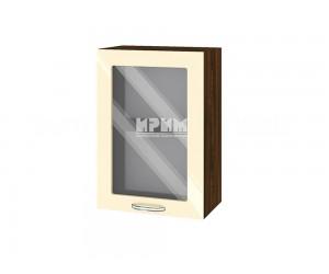 Горен шкаф за кухня Сити ВФ-Бежово гланц-05-218 МДФ - 50 см.