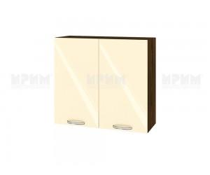 Горен шкаф за кухня Сити ВФ-Бежово гланц-05-4