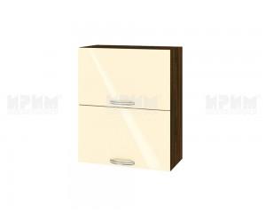 Горен шкаф за кухня Сити ВФ-Бежово гланц-05-11