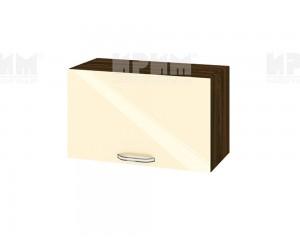 Горен шкаф за кухня Сити ВФ-Бежово гланц-05-15 МДФ - 60 см.