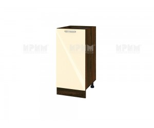 Долен шкаф за кухня Сити ВФ-Бежово гланц-05-21