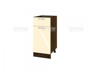 Долен шкаф за кухня Сити ВФ-Бежово гланц-05-24 МДФ - 40 см.