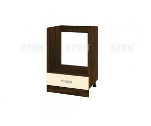 Кухненски долен шкаф за фурна Сити ВФ-Бежово гланц-05-36