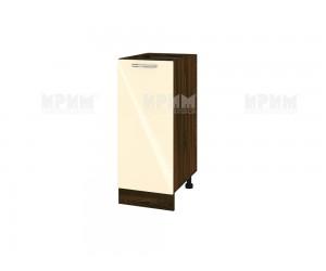 Долен шкаф за кухня Сити ВФ-Бежово гланц-05-40