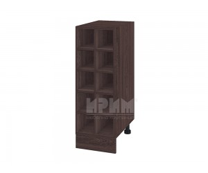 Долен кухненски шкаф бутилиера Сити В - 47 - 30 см.
