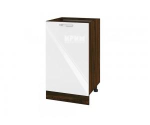 Долен шкаф за кухня Сити ВФ-Бяло гланц-05-43