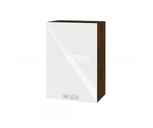 Горен шкаф за кухня Сити ВФ-Бяло гланц-05-18