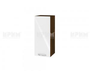 Горен шкаф за кухня Сити ВФ-Бяло гланц-05-1