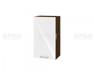 Горен шкаф за кухня Сити ВФ-Бяло гланц-05-2