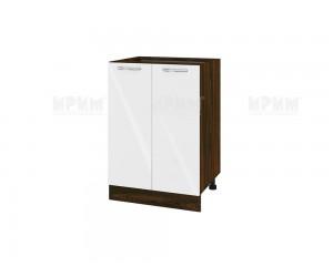 Долен шкаф за кухня Сити ВФ-Бяло гланц-05-22