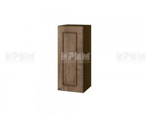 Горен шкаф за кухня Сити ВФ-Дъб натурал-06-1 МДФ - 30 см.