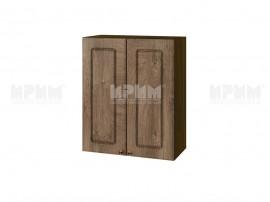Горен шкаф за кухня Сити ВФ-Дъб натурал-06-3 МДФ - 60 см.