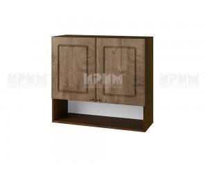Горен шкаф за кухня Сити ВФ-Дъб натурал-06-8 МДФ - 80 см.