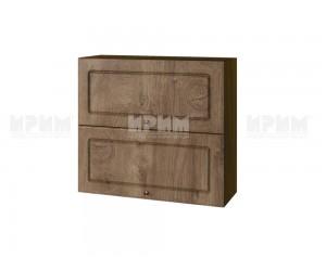 Горен шкаф за кухня Сити ВФ-Дъб натурал-06-12 МДФ - 80 см.