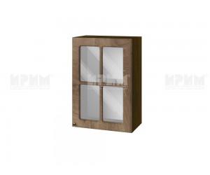 Горен шкаф за кухня Сити ВФ-Дъб натурал-06-118 МДФ - 50 см.