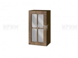 Горен шкаф за кухня Сити ВФ-Дъб натурал-06-102