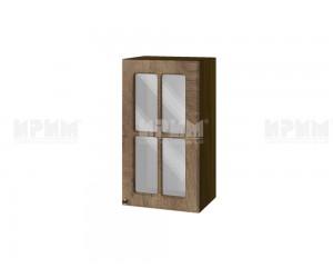 Горен шкаф за кухня Сити ВФ-Дъб натурал-06-102 МДФ - 40 см.
