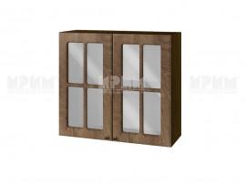 Горен шкаф за кухня Сити ВФ-Дъб натурал-06-104