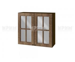 Горен шкаф за кухня Сити ВФ-Дъб натурал-06-104 МДФ - 80 см.