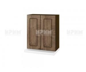 Кухненски горен шкаф за аспиратор Сити ВФ-Дъб натурал-06-13 МДФ - 60 см.