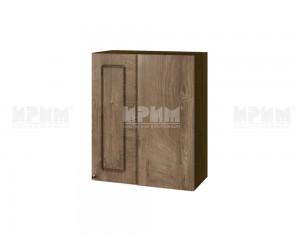 Ъглов горен шкаф за кухня Сити ВФ-Дъб натурал-06-17 МДФ - 60 см.