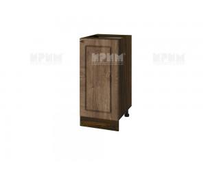 Долен шкаф за кухня Сити ВФ-Дъб натурал-06-21 МДФ - 40 см.