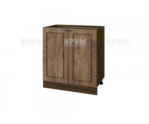 Долен шкаф за кухня Сити ВФ-Дъб натурал-06-23 МДФ - 80 см.