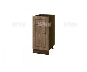 Долен шкаф за кухня Сити ВФ-Дъб натурал-06-77 ляв МДФ - 40 см.