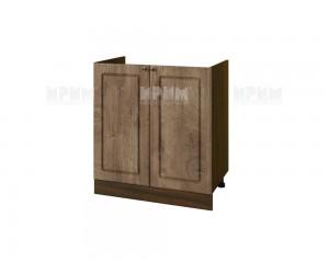 Кухненски долен шкаф за бордова мивка Сити ВФ-Дъб натурал-06-30