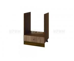 Кухненски долен шкаф за фурна Сити ВФ-Дъб натурал-06-36 МДФ - 60 см.