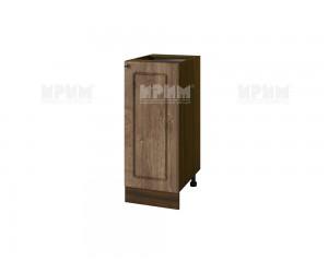Долен шкаф за кухня Сити ВФ-Дъб натурал-06-40 МДФ - 35 см.