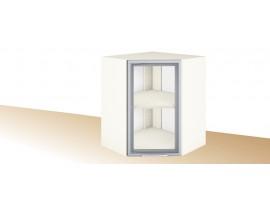 Горен ъглов шкаф за кухня PRIMO PG 11 с витрина - 60 см.