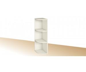 Горна ъглова етажерка за кухня PRIMO PG 16 - 20 см.
