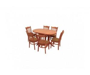Комплект маса и столове Денвър-Хибрид