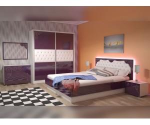 Спален комплект Грация патладжан