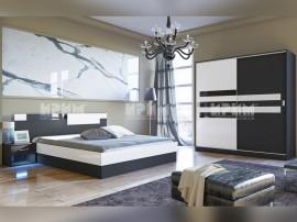Спален комплект City 7022 с матрак