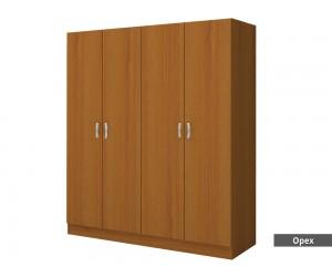 Четирикрилен гардероб М 014 Е - до изчерпване на количествата