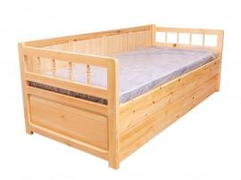 Легло Масив Анчо 40 - с две чекмеджета
