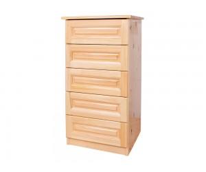 Скрин Масив - с 5 бр. чекмеджета - 50 см.