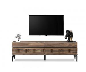 ТВ шкаф CARMEN - тъмен дъб