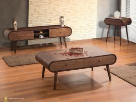 Комплект Liva - ТВ шкаф, холна маса и помощна маса