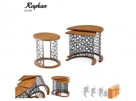 Комплект 3 бр. помощни холни маси Reyhan